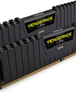 CMK8GX4M2A2400C14-Corsair Vengeance LPX 8GB (2x4GB) DDR4 2400MHz C14 Desktop Gaming Memory Black
