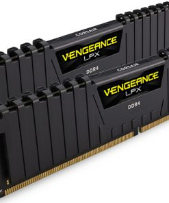 CMK8GX4M2A2400C16-Corsair Vengeance LPX 8GB (2x4GB) DDR4 2400MHz C16 Desktop Gaming Memory Black