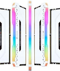 CMW32GX4M2C3000C15W-Corsair Vengeance RGB PRO 32GB (2x16GB) DDR4 3000MHz C15 Desktop Gaming Memory White