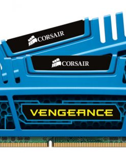 CMZ8GX3M2A1600C9B-Corsair Vengeance 8GB (2x4GB) DDR3 1600MHz C9 Desktop Gaming Memory Blue