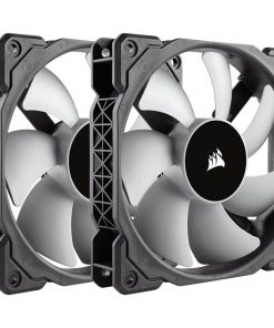 CO-9050039-WW-Corsair ML120 120mm Premium Magnetic Levitation Fan — Twin Pack!
