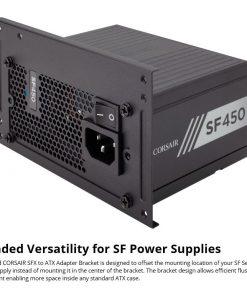CP-8920204-Corsair SFX TO ATX PSU Bracket version 2  for SF450/600