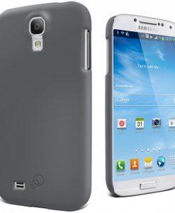 CY1169CXFRO-Cygnett Feel Charcoal Case Slim Soft Feel Suit Galaxy S4
