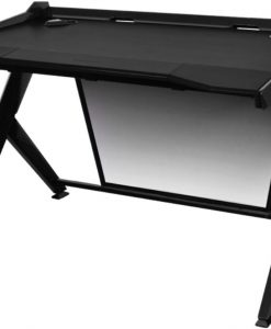 GD/1000/N-DXRacer 1000 Series Gaming Desk - Black
