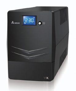 UPA102V2100BB-Delta VX Series Line Interactive 1000VA/600W UPS (Tower) 4 AU Ports