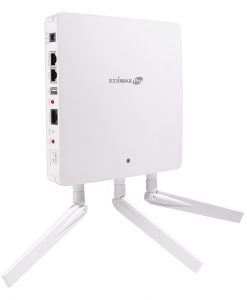 EW-WAP1750-Edimax Pro Wireless AC1750 Dual-Band Wall-Mount PoE Access Point