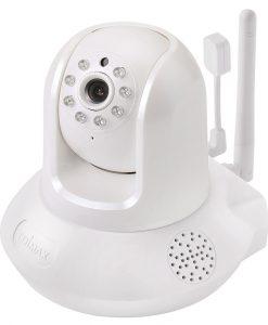IC-7113W-Edimax Smart HD Wi-Fi Pan/Tilt Network Camera with Temperature & Humidity Sensor