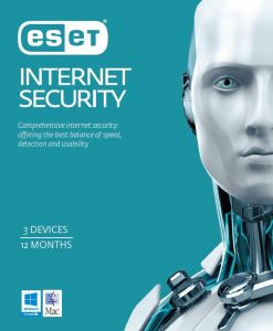 EISH3D1Y-ESET Internet Security OEM 3 Devices 1 Year Download