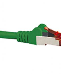 HCAT6AGN3-Hypertec CAT6A Shielded Cable 3m Green Color 10GbE RJ45 Ethernet Network LAN S/FTP Copper Cord 26AWG LSZH Jacket