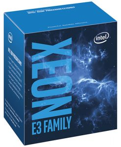 BX80677E31220V6-Intel E3-1220v6 Quad Core Xeon 3.0 Ghz LGA1151 8M Cache Boxed