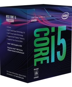BX80684I58600K-Intel Core i5-8600K 3.6Ghz No Fan Unlocked  s1151 Coffee Lake 8th Generation Boxed 3 Years Warranty