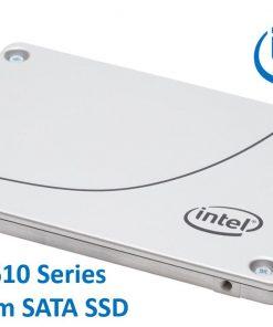 """SSDSC2KG960G801-Intel DC S4610 2.5"""" 960GB SSD SATA3 6Gbps 3D2 TCL 7mm 560R/510W MB/s 96K/51K IOPS 3xDWPD 2 Mil Hrs MTBF Data Center Server 5yrs Wty ~HBI-S4510-960GB"""