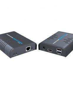 LKV373KVM-Lenkeng HDMI KVM Extender over cat5/5E/6