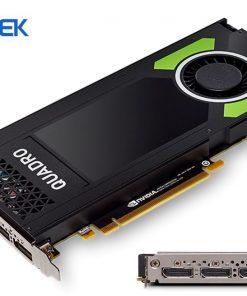 P4000-Leadtek nVidia Quadro P4000 PCIe Workstation Card 8GB DDR5 4xDP 1.4 4x5120x2880@60Hz 256-Bit 243GB/s 1792 Cuda Core Single Slot Full Height