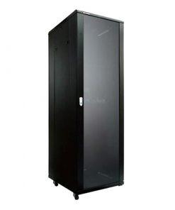 NCB42-610-BDA-LinkBasic 42U 1000mm Depth Server Rack Glass Door with 4x240v Fans and 8-Port 10A PDU
