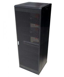 NCB42-612-DDA-LinkBasic 42RU 1200mm Depth Server Rack Mesh Door with 4x240v Fans and 8-Port 15A PDU