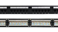 PNA24-UC6A-LinkBasic 24 Port Cat6A UTP Patch Panel Rack Mount