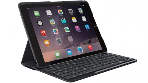 "920-009017-Logitech Slim Folio Case Cover with Bluetooth Keyboard for iPad 9.7"" 2017 5th 6th Gen ~920-009017"