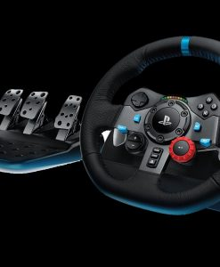 941-000115-Logitech G29 Driving Force Racing Wheel PS3 & PS4 Dual motor force feedback Helical gearing with anti-backlash 900° steering - 941-000115