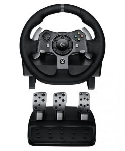 941-000126-Logitech G920 Driving Force Racing Wheel for XBOX/PC Dual-Motor Force Feedback - Dual motor force feedback Precision control - 941-000126