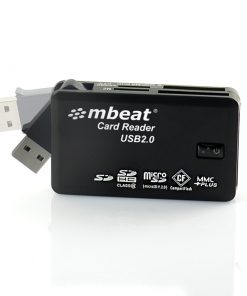USB-MCR01-mbeat® USB 2.0 All In One Card Reader - Supports SD/SDHC/CF/MS/XD/MicroSD /MicroSD HC / SONY M2 without adaptor.