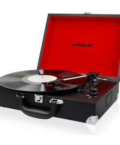 USB-TR88-mbeat®Retro Briefcase-styled USB Turntable Recorder