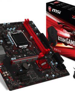 B250M GAMING PRO-MSI B250M GAMING PRO MATX Motherboard - S1151 7Gen 2xDDR4 1xPCI-E HDMI/DVI/VGA 1xM.2 TypeC CF - FREE MSI DSB1 Gaming Mouse In