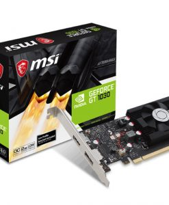 GT 1030 2G LP OC-MSI NVIDIA GT 1030 2G LP OC Low Profile Video Card - GDDR5 DP/HDMI 1265/1518MHz