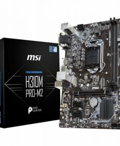 H310M PRO-M2-MSI H310M PRO-M2  mATX Motherboard - S1151 8Gen 2xDDR4 3xPCI-E