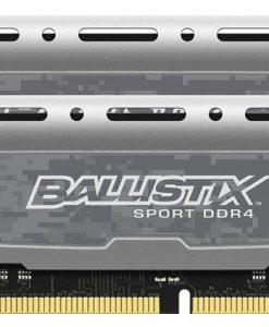 BLS2K8G4D26BFSB-Crucial Ballistix Sport LT 16GB (2x8GB) DDR4 2666MHz C16 Gaming Memory Grey