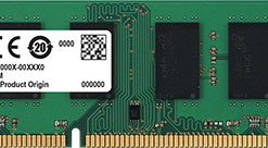 CT102472BD160B-Crucial 8GB (1x8GB) DDR3L UDIMM 1600MHz ECC Unbuffered Dual Ranked Single Stick Server Desktop PC Memory RAM