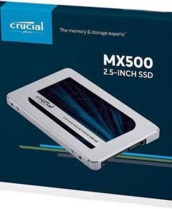 "CT500MX500SSD1-Crucial MX500 500GB 2.5"" SATA SSD - 3D TLC 560/510 MB/s 90/95K IOPS 7mm w/9.5mm Adapter 5yr wty ~SUV500/480G"