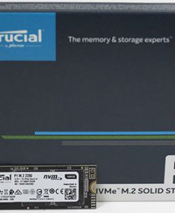 CT500P1SSD8-Crucial P1 500GB M.2 (2280) NVMe PCIe SSD - 3D NAND 1900/950 MB/s Acronis True Image Cloning Software via Download
