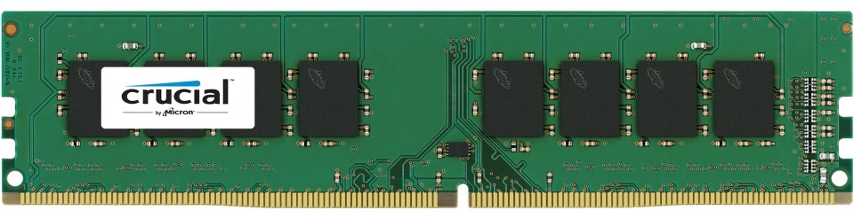 CT51264BD160B-Crucial 4GB (1x4GB) DDR3L 1600MHz UDIMM CL11 Dual Voltage 1.35V/ 1.5V Dual Ranked