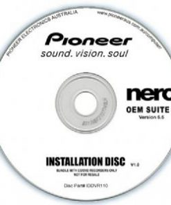IDDVR110-Pioneer Software Nero Suite 3 OEM Version 6.6 - Play Edit Burn  Share Blu-ray  3D contents - PowerDVD10 InstantBurn5.0 Power2Go8.0 PowerProducer5.5