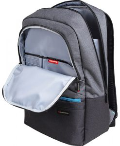 "ASCEND-BP.GREY-Promate Ascented-BP 15.6"" Laptop Backpack With Multiple Pockets - GERY"