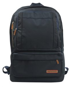 DRAKE.BLACK-Promate Drake Premium Backpack with Multiple Storage Options - Black