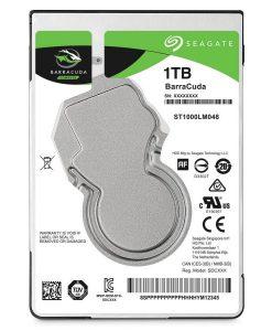 """ST1000LM048-Seagate 1TB Barracuda 2.5"""" 7mm 5400 RPM 128MB Cache SATA 6.0Gb/s Laptop Internal Hard Drive ST1000LM048"""