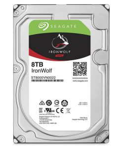 "ST8000VN0022-Seagate 8TB IronWolf 3.5"" SATA3 NAS 24x7 7200 RPM 256MB Cache SATA 6.0Gb/s HDD (ST8000VN0022)"