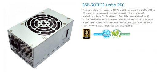 SSP-300TGW-Seasonic TFX 300W