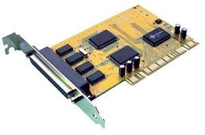 COMCARD-4LP-Sunix 4 Prt Serial PCI Card Includes optional Low Profile