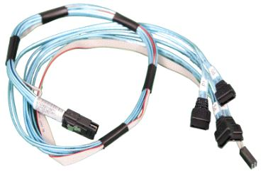 CBL-0237L-SuperMicro mSAS to 4 x SATA 70cm/SFF-8087 to 4 x SAS/SATA