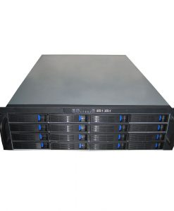 TGC-316-TGC Rack Mountable Server Chassis 3U 16-bay Mini-SAS Hot-swap Rack Mountable Server Chassis - no PSU
