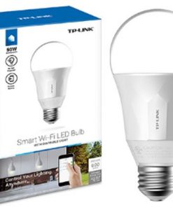 LB100-TP-Link LB100 Smart Wi-Fi LED Bulb with Dimmable Light 600lm 2700K 8W 240V 270 Degree 2.4GHz IEEE 802.11b/g/n iOS/Android
