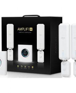 AFI-HD-AU-Ubiquiti Amplifi  AFI High Density Home Wi-Fi Mesh include 2x HD Extender ( AFI-P-HD ) - 3x3 MIMO Max Coverage 1860 sqm