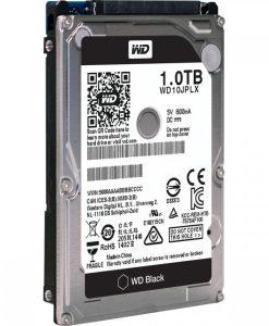 """WD10JPLX-WD Black 1TB SATA3 9.5mm 2.5"""" 7200RPM 6Gb/s 32MB Cache"""