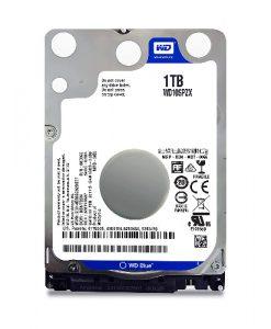 """WD10SPZX-WD Blue 1TB SATA3 7mm 2.5"""" 5400RPM 6Gb/s 128MB Cache"""