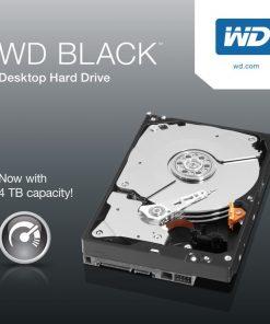 "WD4005FZBX-Western Digital WD Black 4TB 3.5""SATA HDD 7200RPM 6Gb/s 256MB Cache Hard Drive Acronis True Image 5 Yrs Wty - WD4005FZBX"