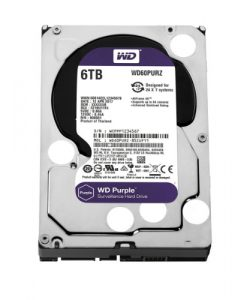 "WD60PURZ-Shortage! WD Purple 6TB Surveillance 3.5"" IntelliPower SATA3 6Gb/s 64MB WD60PURZ"