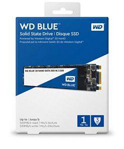 WDS100T2B0B-Western Digital WD Blue 1TB M.2 2280 SATA SSD 560R/530W MB/s 500TBW 3D NAND 5yrs Wty
